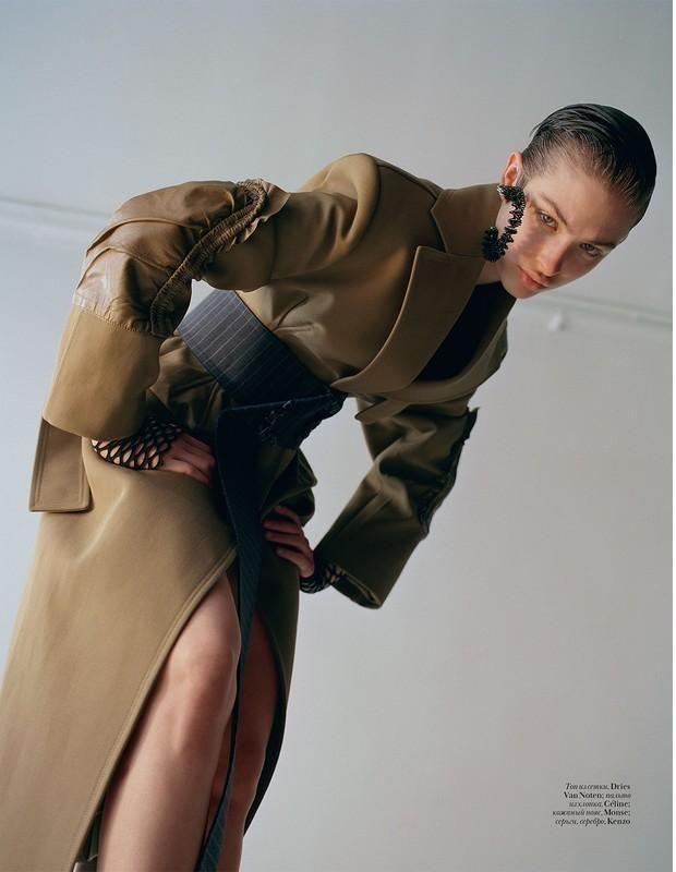 Lera Abova - Vogue Ukraine