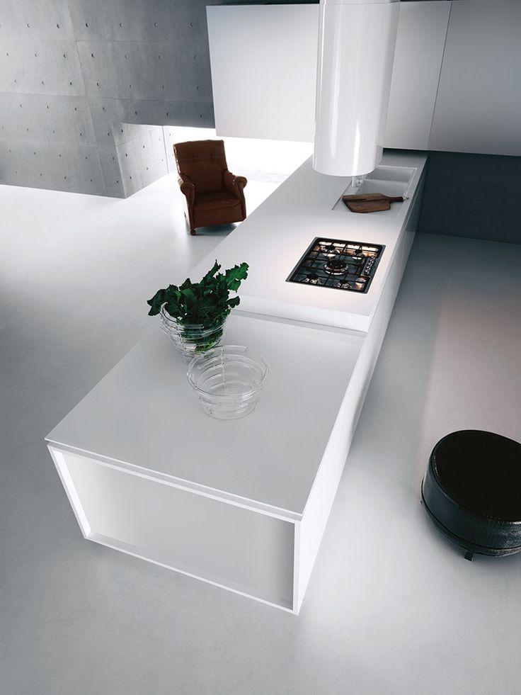 Oltre 25 fantastiche idee su Cucine bianche moderne su Pinterest ...