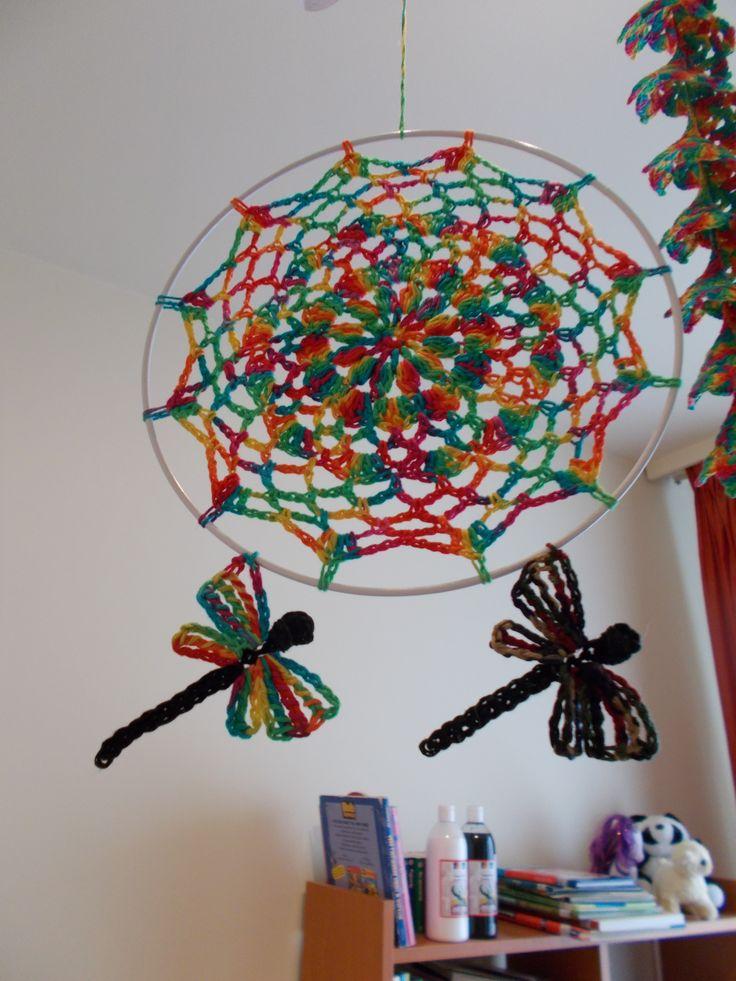 Mandala és szitakötők / Mandala and dragonflies