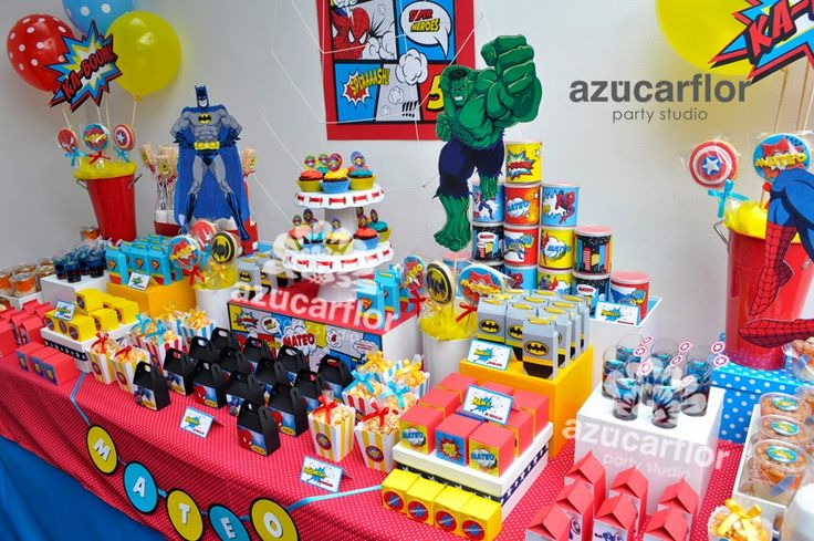 AZUCAR FLOR party studio: mesa de dulces