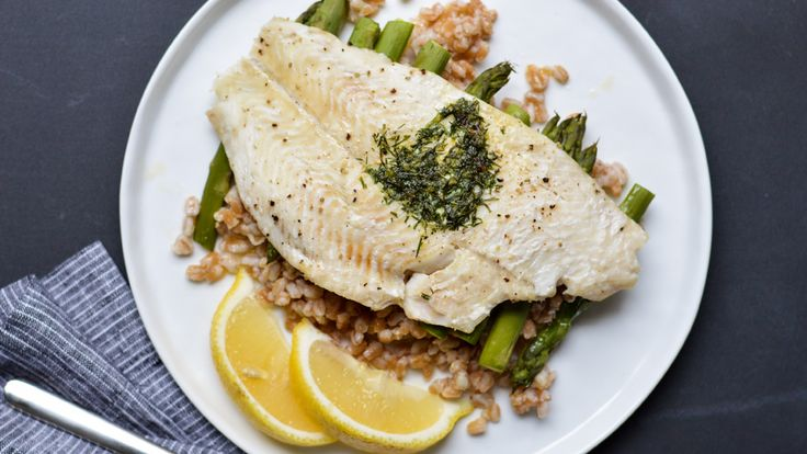 17 best images about spelt for lunch dinner on pinterest for Fish and asparagus
