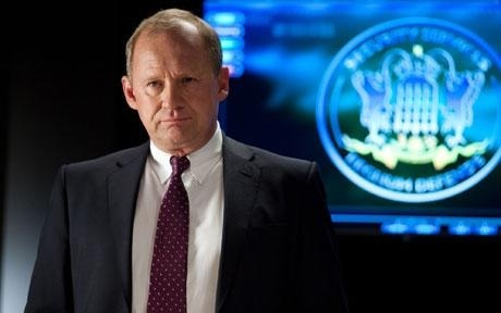 Sir Harry Pearce (Peter Firth) the much loved and long suffering head of Section D in BBC's Spooks/MI-5.