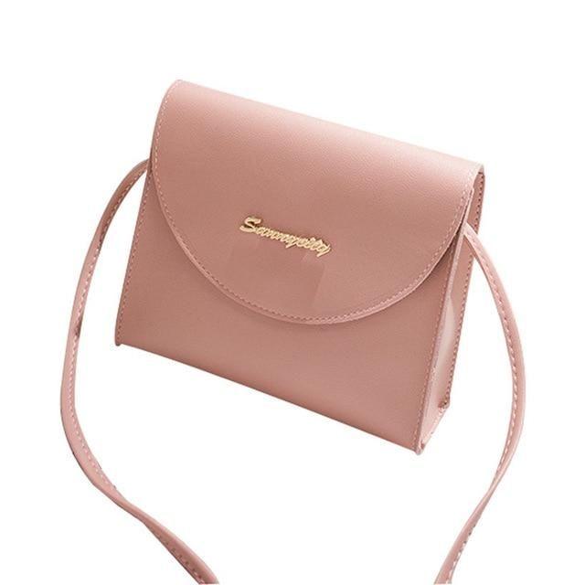 5380e8b83ffc Simple Patent Style PU Leather Women MIni Square Messenger Female ...