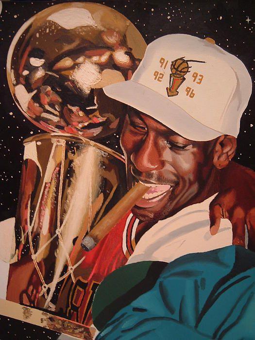 Jordan Painting ~ Championship #4