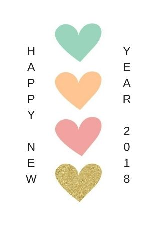 New year greeting cards 2018. May you have the sweetest Sundays, mind blowing Mondays, terrific Tuesdays, wonderful Wednesdays, thundering Thursdays, friendly Fridays, superb Saturdays, and a rocking year ahead! Wish you a happy new year!