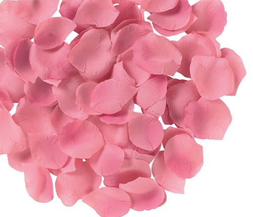 Silk Rose Flower Pedals Romantic Decor Pink 144pack - Only $7.99 ** Free Shipping -- www.GadgetPlus.ca