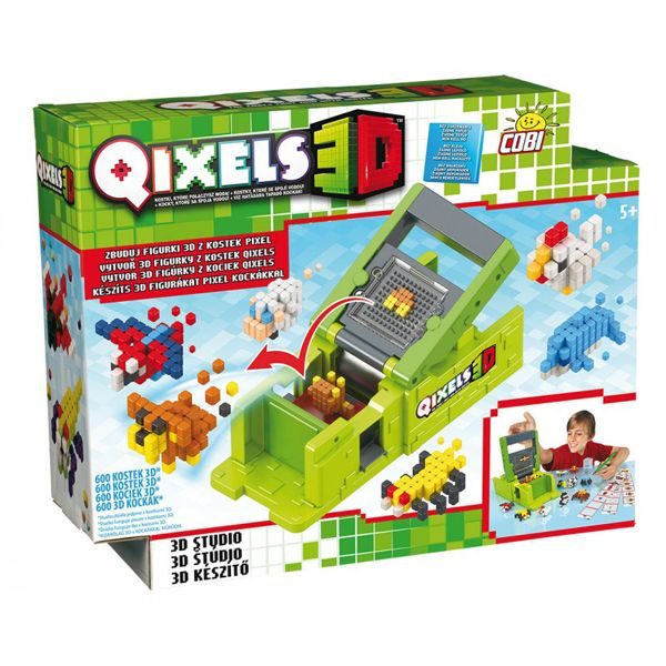 Galeria produktu Cobi Qixels 3D Studio 87053, obrazek nr 1