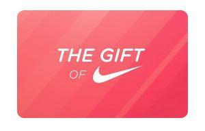Free $100 Nike Gift Cards