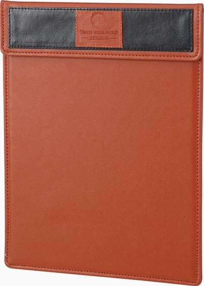 Note Pad And Pen Holder - Note Pad Holder PU Leather  - Medium - In Room