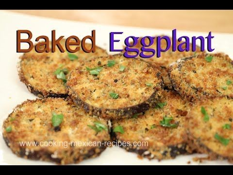 How To Make Baked Eggplant Taste Like Fried | Rockin Robin Cooks - YouTube