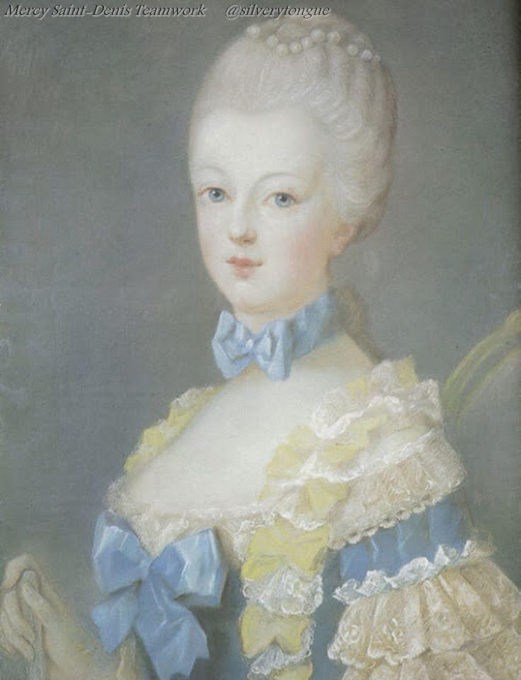 María Antonieta en el clavicordio, de Franz Xaver Wagenschön (1768). José Ducreux, 1769, pastel. Marie-Antoinette, a la edad de 14 años.