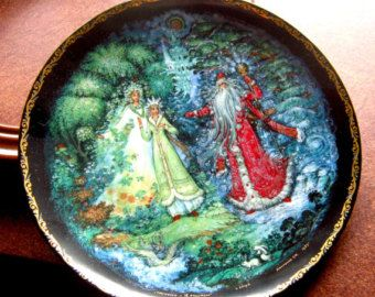 Snowmaiden with Spring and Winter - Legends of the Snowmaiden Bradford Exchange - Edit Listing - Etsy