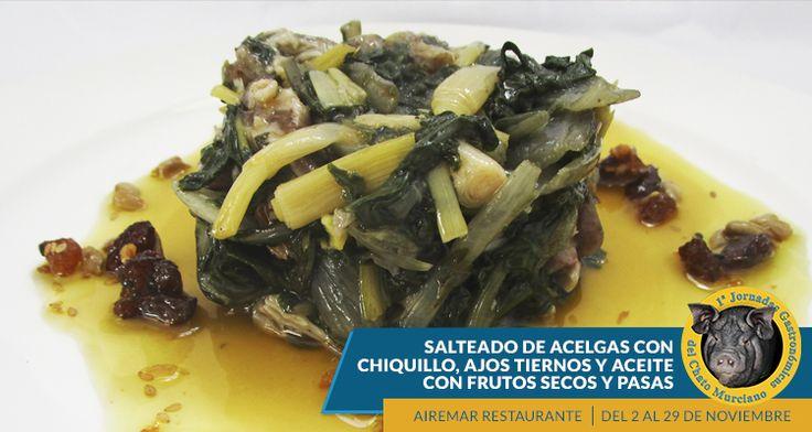 Plato que incluimos en nuestro menú semanal de las Jornadas Gastronómicas del Chato Murciano, no pierdas la oportunidad de disfrutar de esta composición culinaria. ¡Te esperamos! Reservas: 968383077