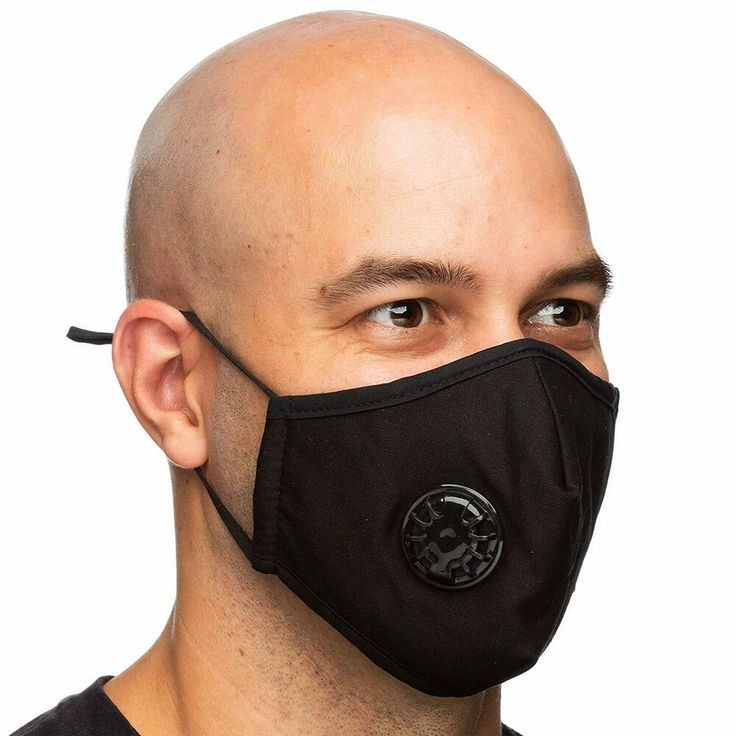 Debrief Me One Mask + 6 Filters Military Grade N99 Carbon