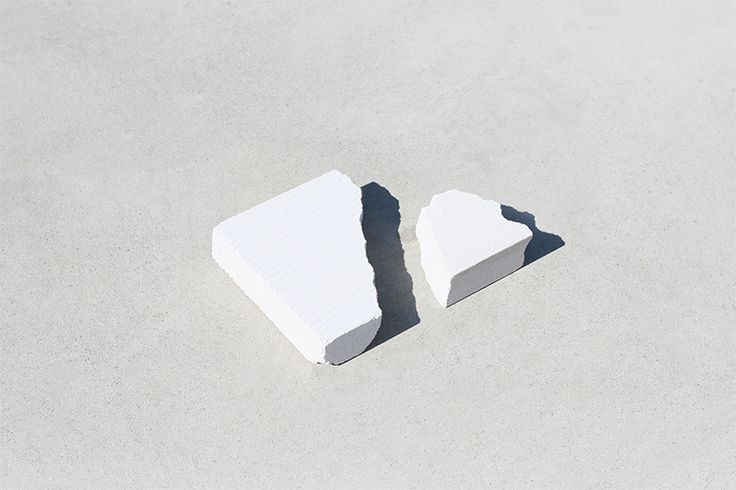 Love Aesthetics / Fracture side tables