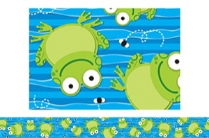 Frogs Bulletin Board Border