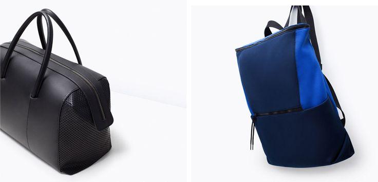 Bolsos Zara Hombre, colección primavera-verano 2015 - http://www.guiabolsos.com/bolsos-zara-hombre-coleccion-primavera-verano-2015.html