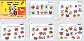 Cuaderno de atención y motricidad para educación infantil