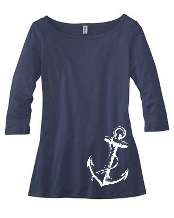 Anchor boatneck...  Why do I have such a thing for nautical clothing?