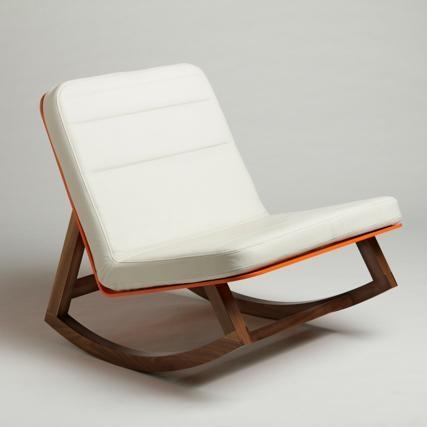 dock 6.Design Products, Rocks Chairs, Rocker, Custom Furniture, Reading Chairs, Orange Chairs, Lagomorphdesign, Lagomorph Design, Chairs Design