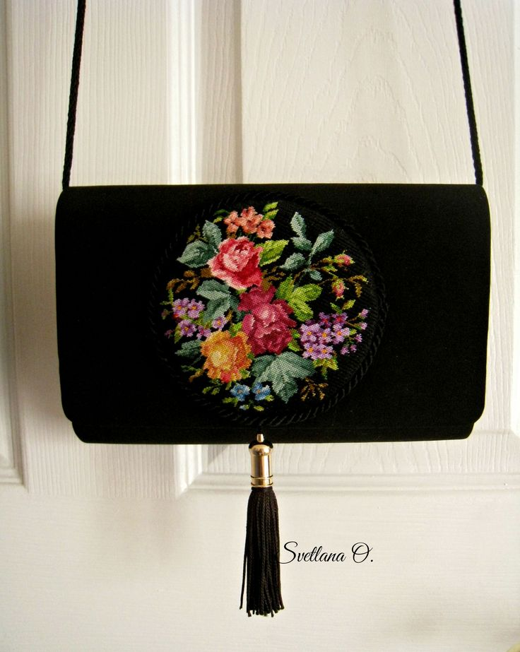 Petit point. Handbag made by Svetlana O.