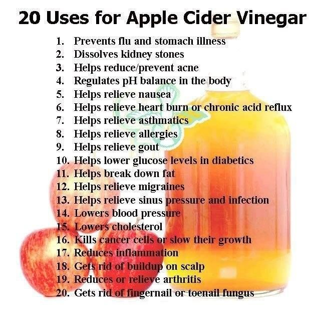 Amazing Benefits Of Apple Cider Vinegar...look at no 2. Hmmm