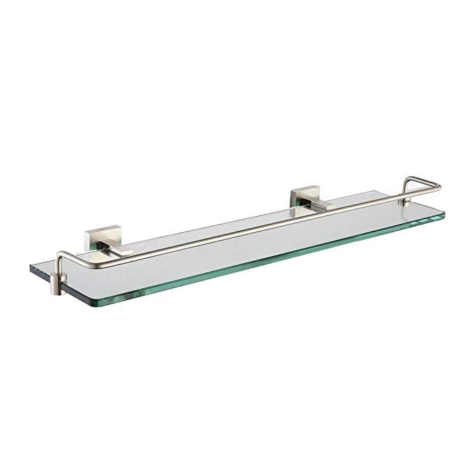 Kraus Kea 14445bn Aura Bathroom Accessories Shelf With Railing