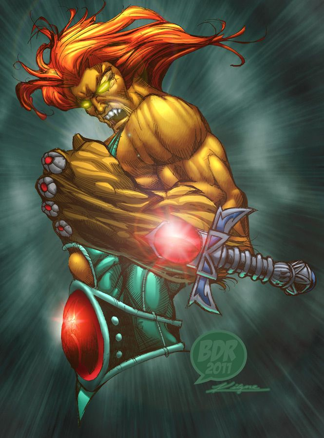 johnny-dynamo:  Prince Of The Thundercats, by Brian Rogers
