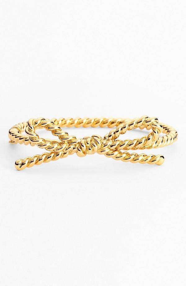 rope bow bracelet