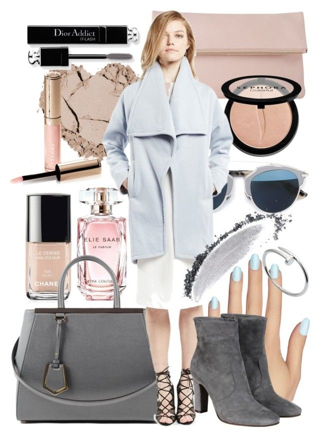 """""""Untitled #31"""" by swishclothing-official on Polyvore featuring Elie Saab, Chanel, Fendi, Whistles, Christian Dior, Sephora Collection, Static Nails, L'Autre Chose, By Terry and NARS Cosmetics"""