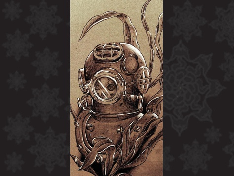 17 Best Images About Diver Tattoo S On Pinterest San Diego Tumblr Website And Deep Sea Diver