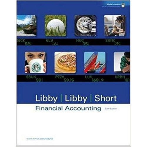 Test Bank Financial Accounting 6th Libby