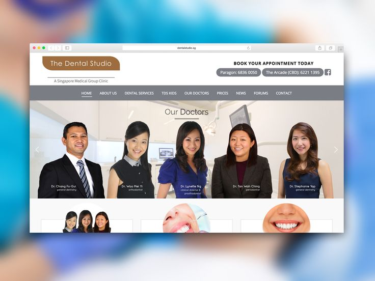 The Dental Studio Web Development #inpixelhaus #webdesign #webdevelopment #responsive #fluid