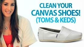Stores Galaxy: How to clean your canvas shoes