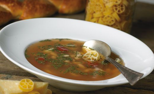 Epicure Italian Bean and Pasta Soup