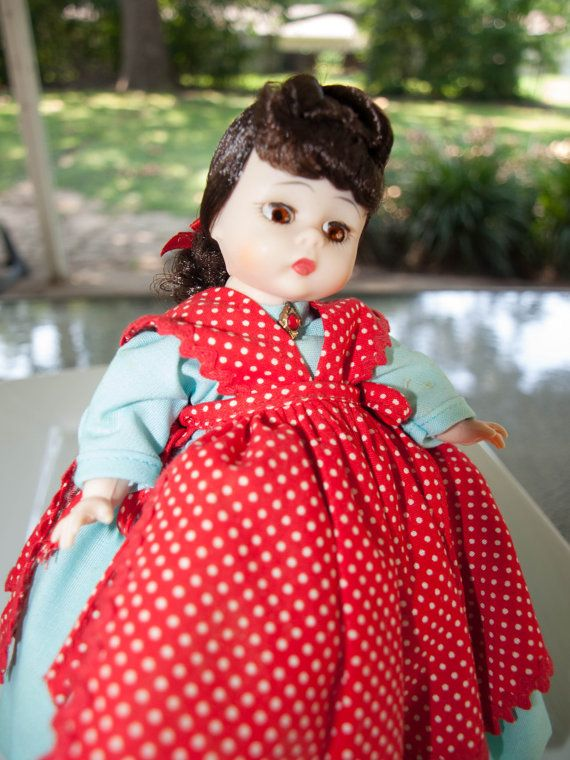 Check out this item in my Etsy shop https://www.etsy.com/listing/220760973/madame-alexander-doll-little-women