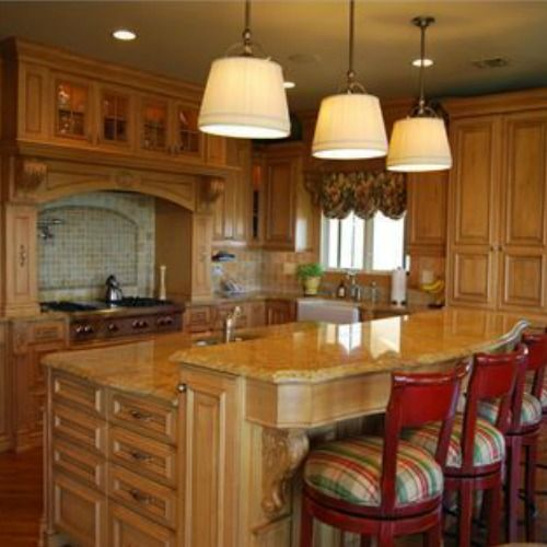 #Royal Cabinet (Sterling Furniture Collection) #kitchen Solid Wood Picture-frame #cabinets In