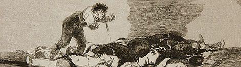 Los desastres de la Guerra. 1810-15. Goya. Serie de grabados