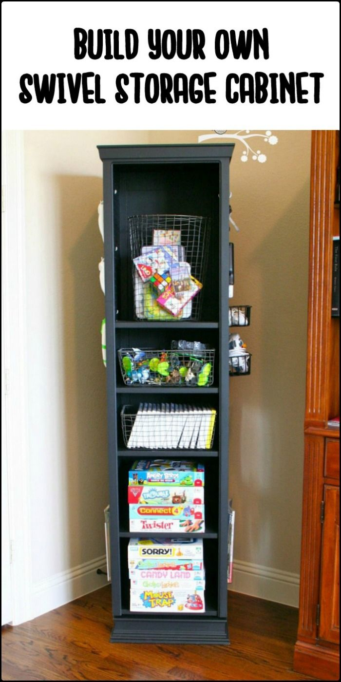 Do you need this clever Lazy Susan swivel storage cabinet at home?