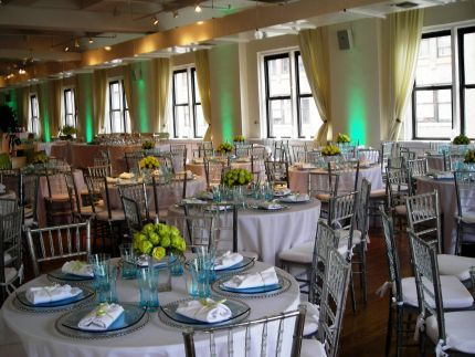 Wedding At The Midtown Loft Terrace Venue In Nyc