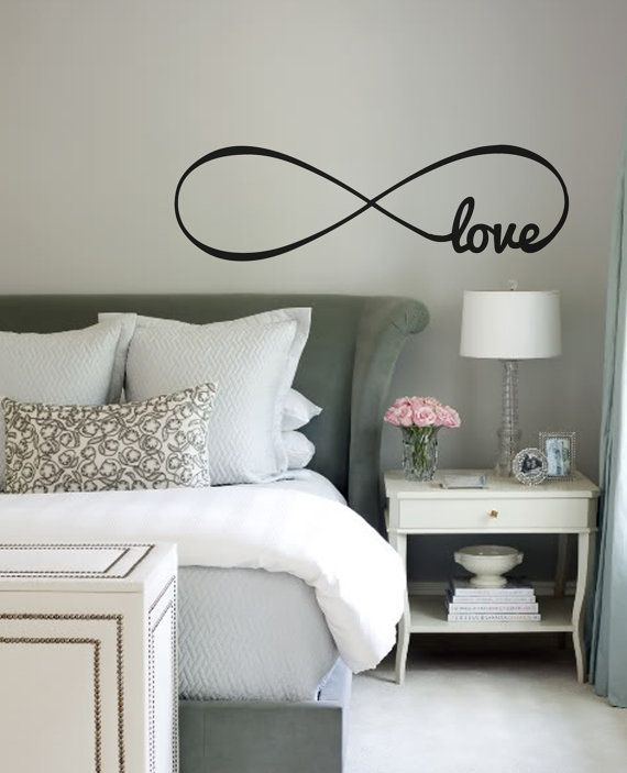 Infinity Symbol Wall Decal With your Choice of Word by WallAffection, £15.00