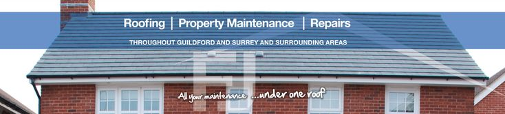 At FJ Maintenance in Guildford, we specialise in all aspects of roofing which includes Roof repairs near Guildford.