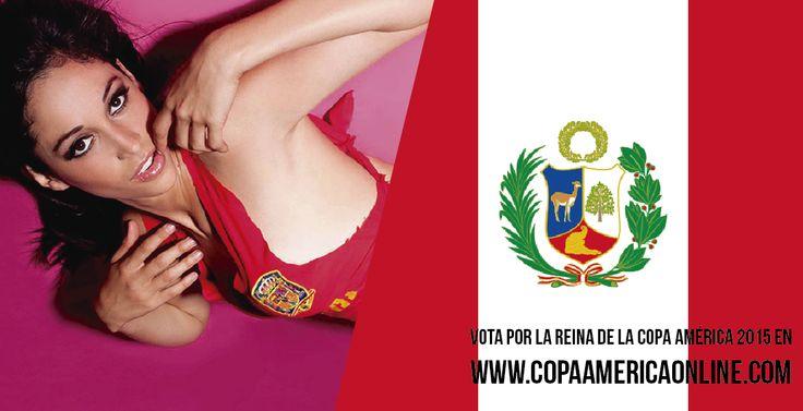Candidata a Reina de la Copa América 2015, representando a Perú Olinda Castañeda  a Votar por tu favorita #ReinaCopaAmerica2015 http://ow.ly/Ojdjq