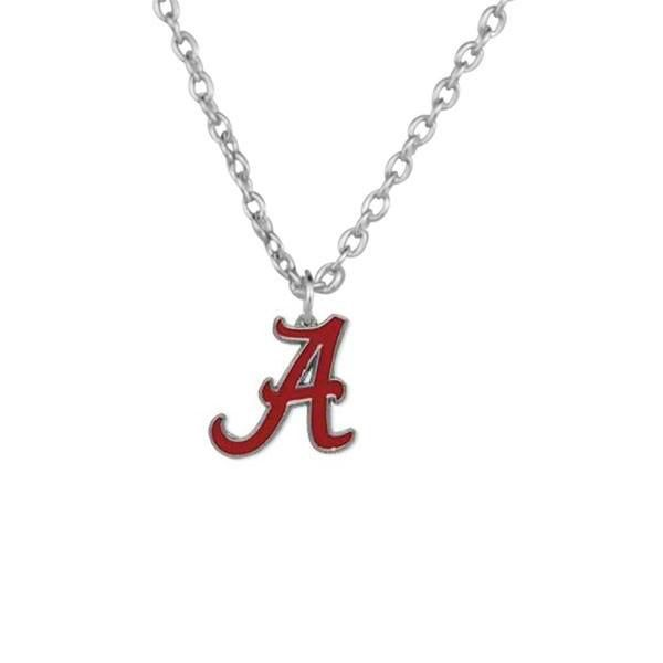 Alabama Crimson Tide Roll Tide Football Pendant Necklace – Best Funny Store