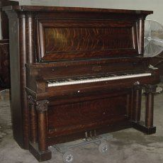 "MY piano is an upright grand. Our house will definitely have one - or ""it""! :)  1918 schiller upright grand piano - Google Search"