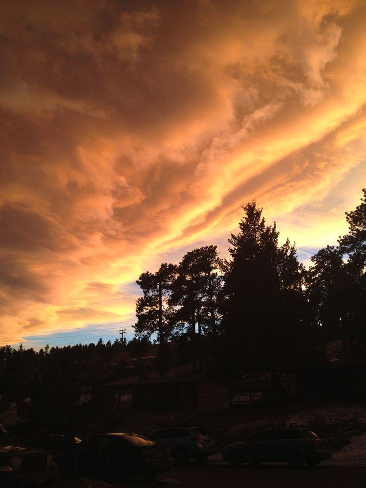 1-15-15: Evergreen Sunset