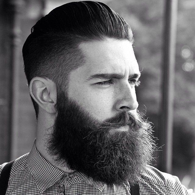 Chris John Millington - full thick bushy dark beard and mustache beards bearded man men hairstyle hair cut #goodhair #beardsforever