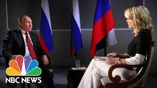 President Vladimir Putin On Russian Election Interference (Full Report)   Megyn Kelly   NBC News