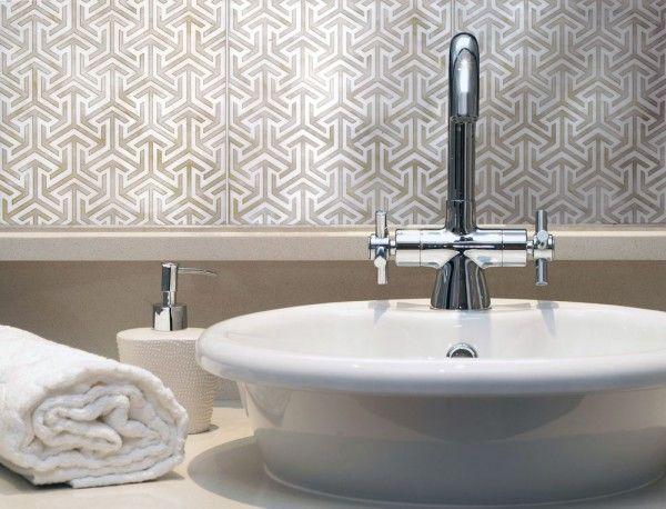 215 Best Bathroom Tiles Images On Pinterest | Bathroom, Bathrooms And Half  Bathrooms