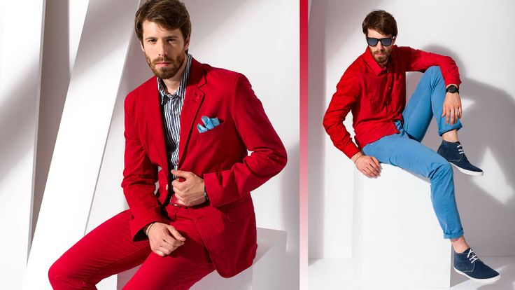 #ss2014 #modamęska #style #redshirt